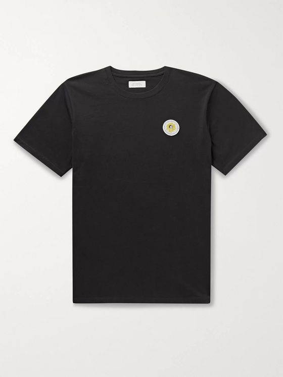 Saturdays NYC Logo-Detailed Cotton-Jersey T-Shirt