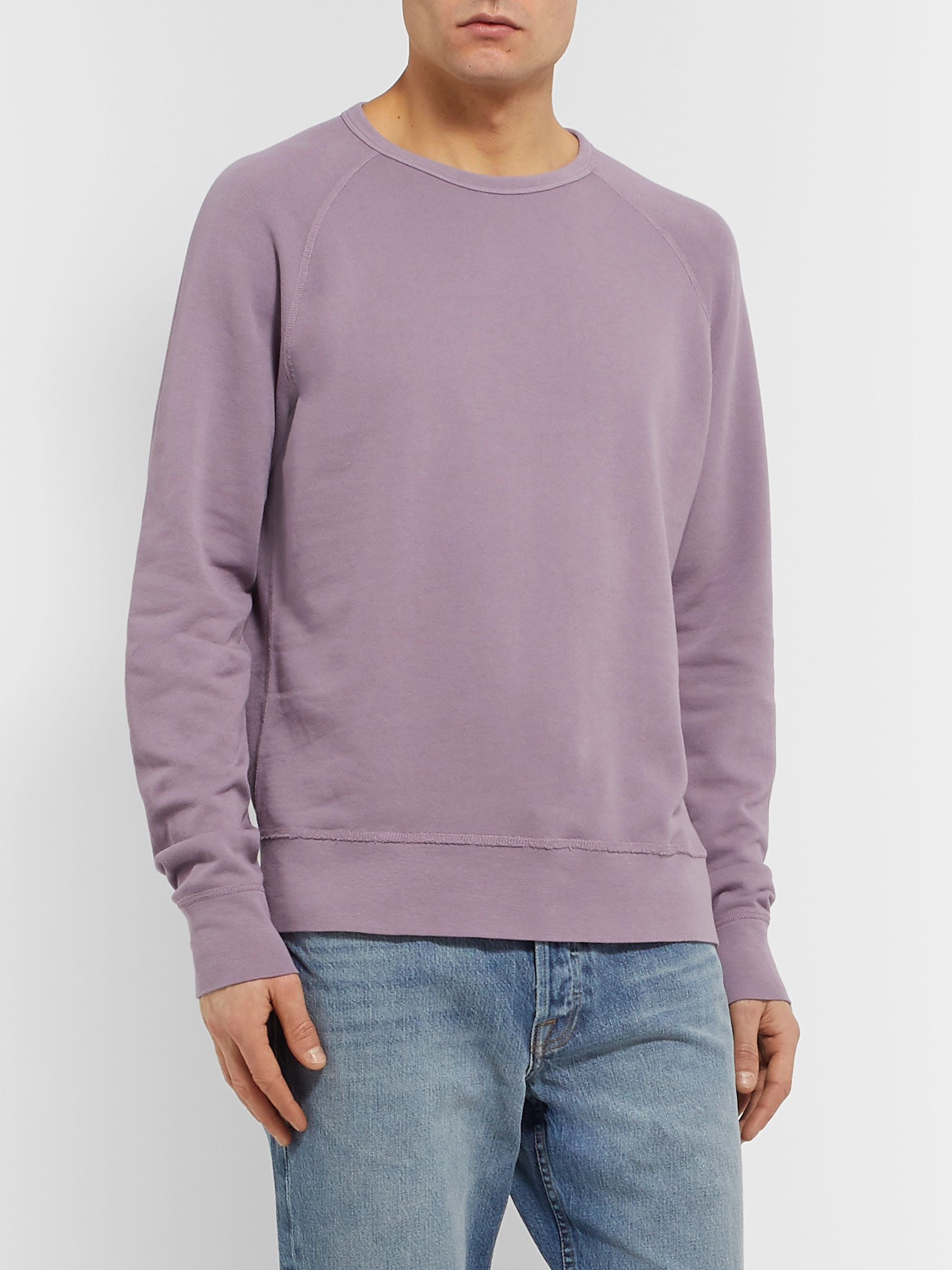 Alex Mill Loopback Cotton-Jersey Sweatshirt