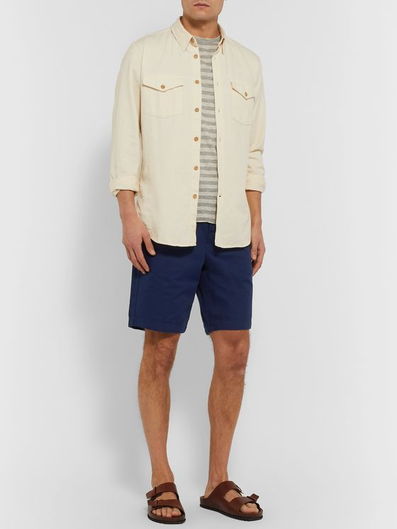 Oliver Spencer Kildale Cotton-Piqué Shorts