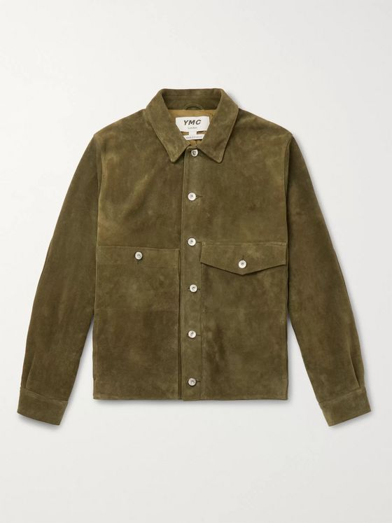 YMC Suede Trucker Jacket