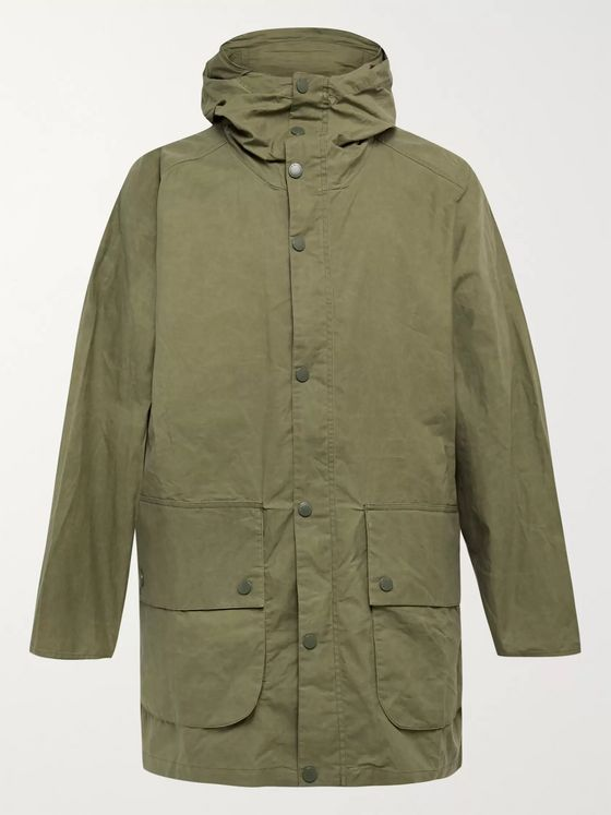 Barbour White Label Bedale Cotton-Ripstop Hooded Jacket