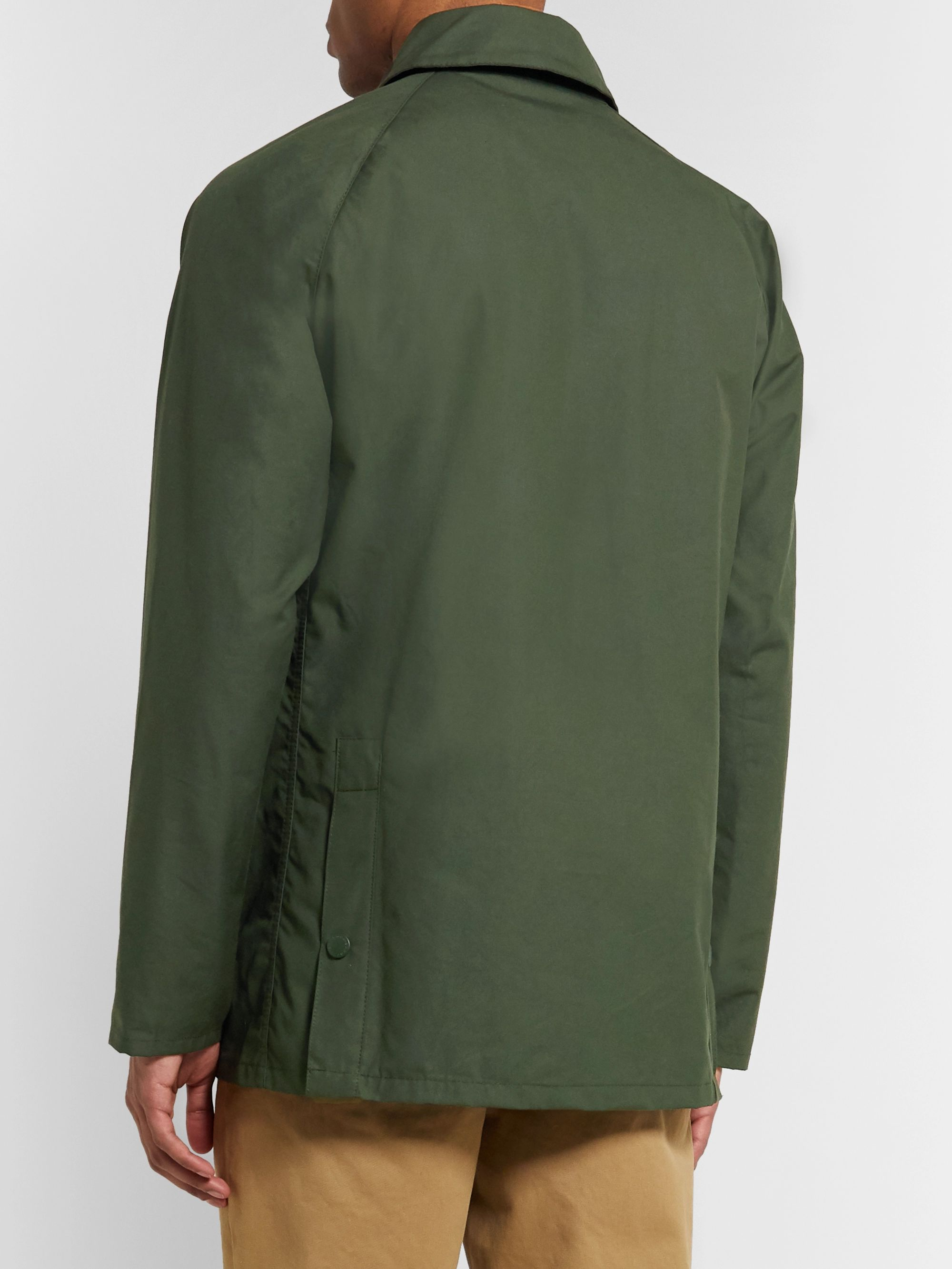 Barbour White Label Bedale Cotton-Canvas Jacket