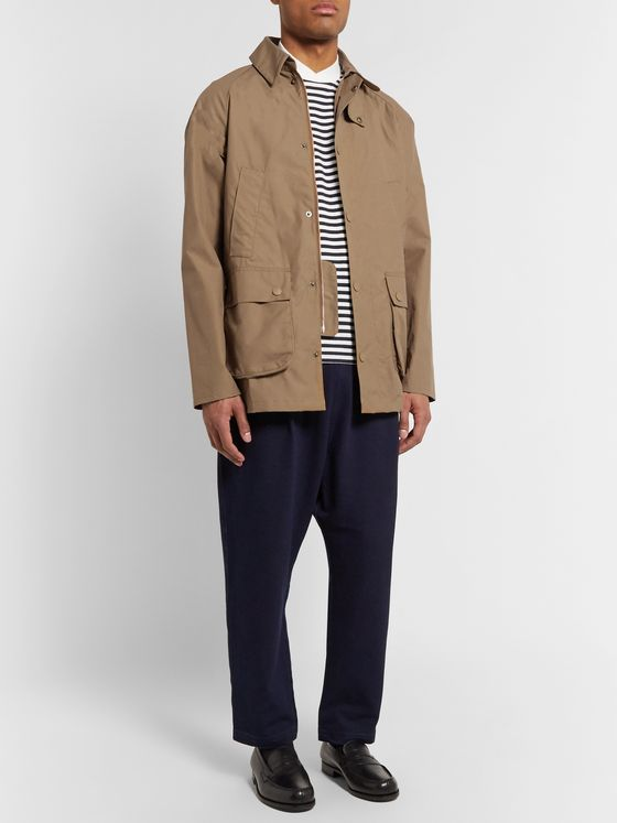 Barbour White Label Bedale Waxed Cotton-Canvas Jacket