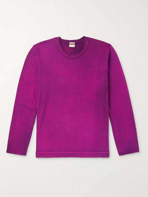 Massimo Alba Cotton and Cashmere-Blend Sweater