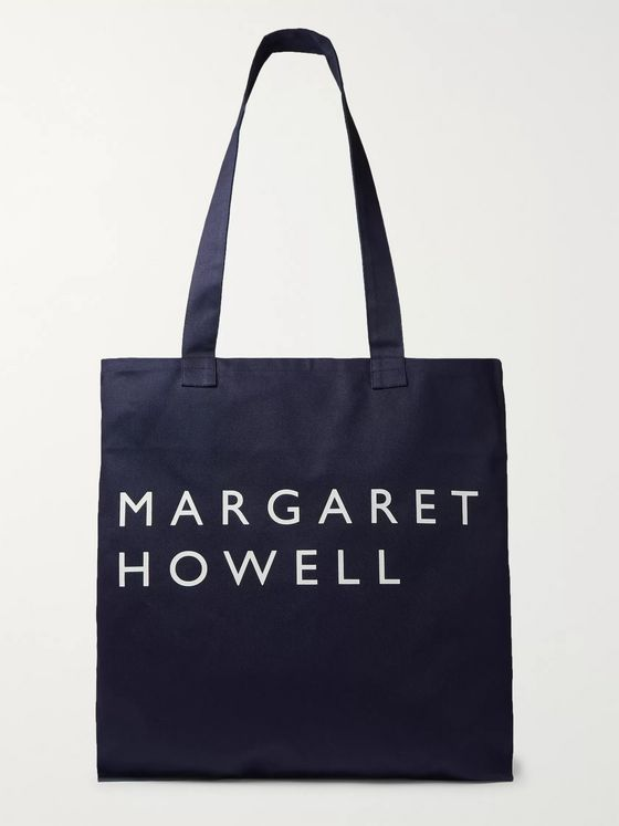 Margaret Howell Logo-Print Cotton-Twill Tote Bag