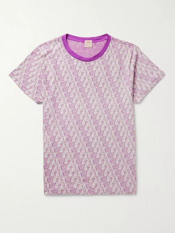 Levi's Vintage Clothing Cotton-Jacquard T-Shirt