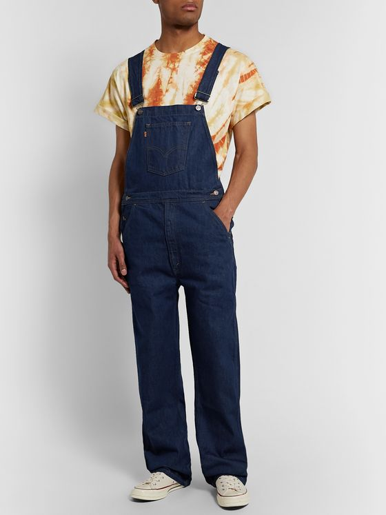 Levi's Vintage Clothing Orange Tab Denim Overalls