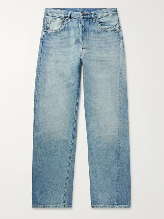 Levi's Vintage Clothing 1955 501 Original Selvedge Denim Jeans