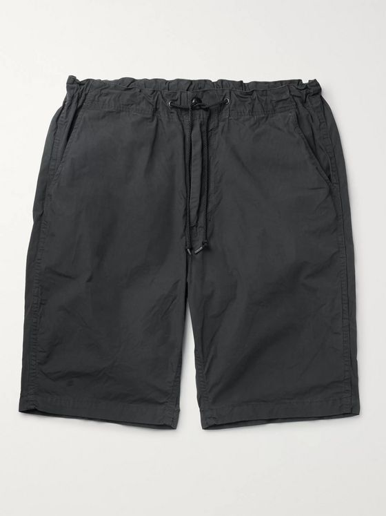 OrSlow Slim-Fit Cotton Drawstring Shorts