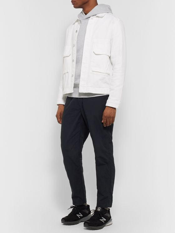 OrSlow Slim-Fit Cotton-Canvas Drawstring Trousers