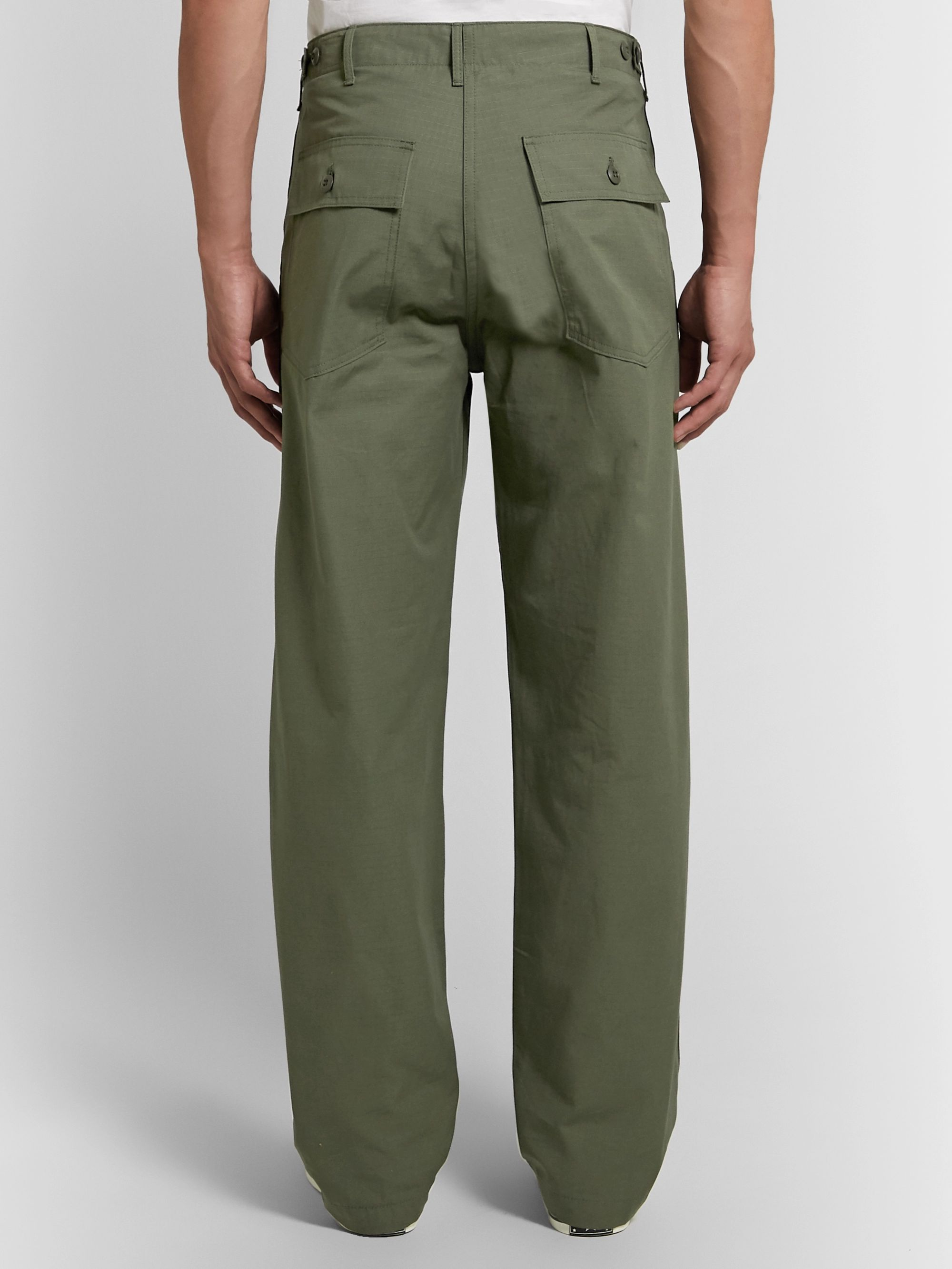 OrSlow Cotton-Ripstop Trousers