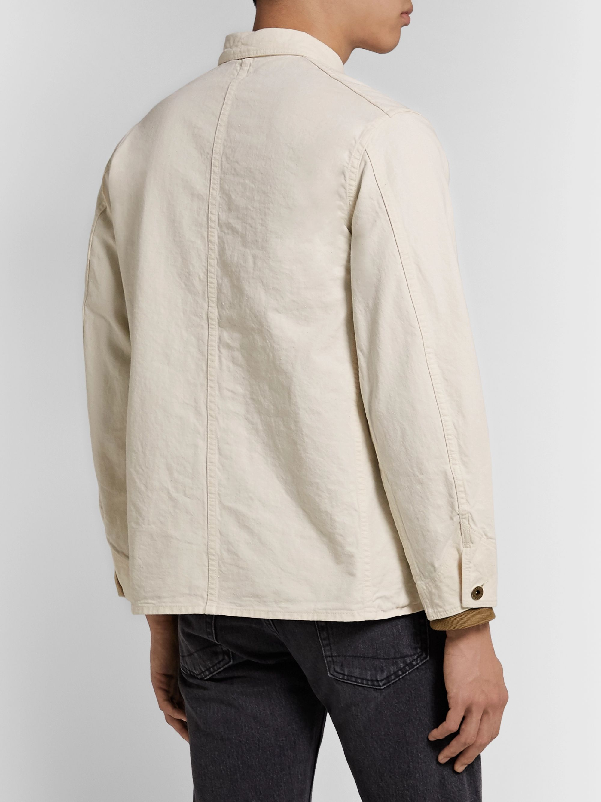 OrSlow Cotton-Twill Chore Jacket