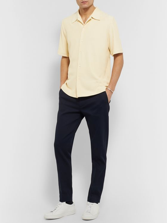 Séfr Suneham Ribbed-Knit Shirt