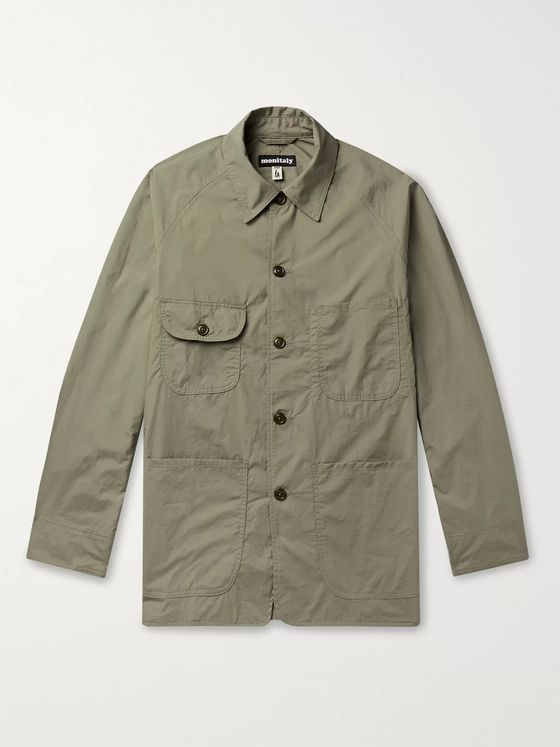 Monitaly Cotton-Poplin Chore Jacket