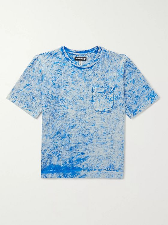 Monitaly Tie-Dyed Cotton-Jersey T-Shirt