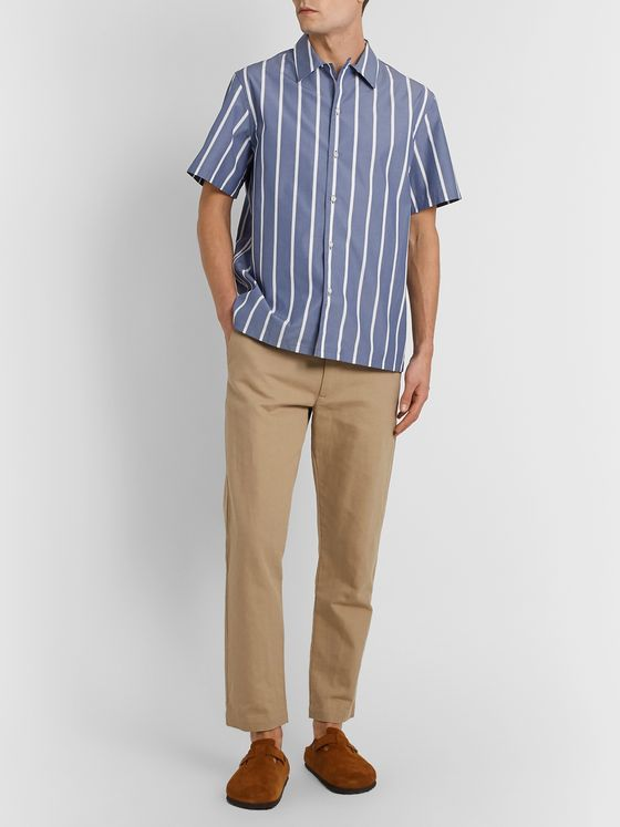 De Bonne Facture Striped Cotton Shirt