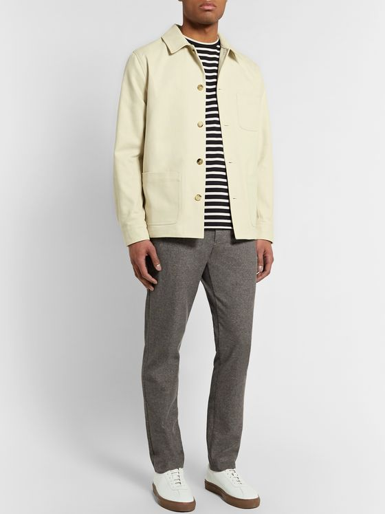 De Bonne Facture Cotton-Twill Jacket