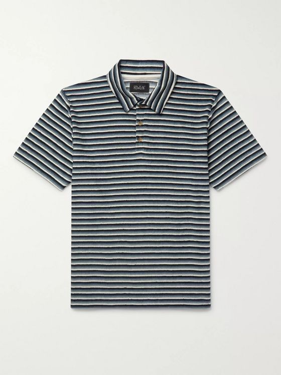 Howlin' Loose Ends Cotton-Blend Terry Polo Shirt