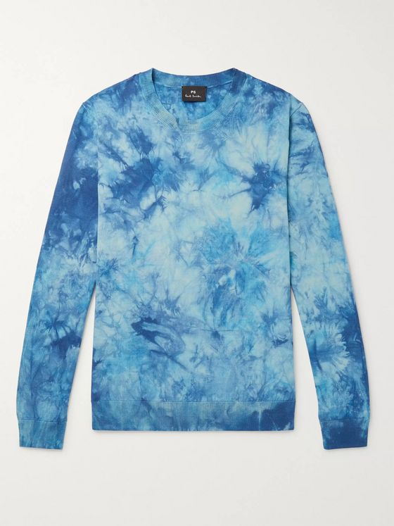 PS Paul Smith Tie-Dyed Cotton Sweater