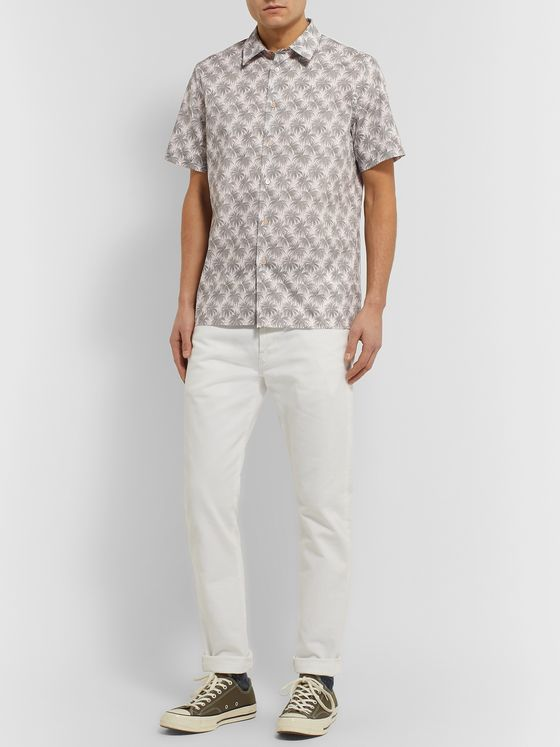PS Paul Smith Printed Cotton Shirt