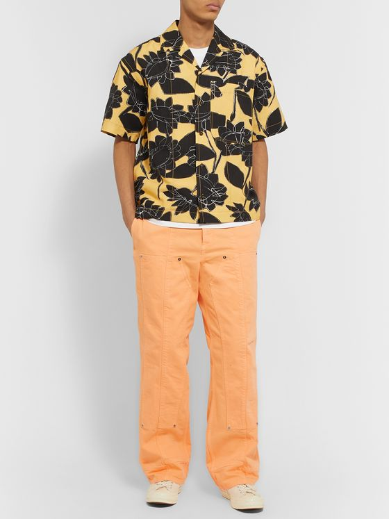 Jacquemus Le De Nîmes Soleil Cotton-Drill Trousers