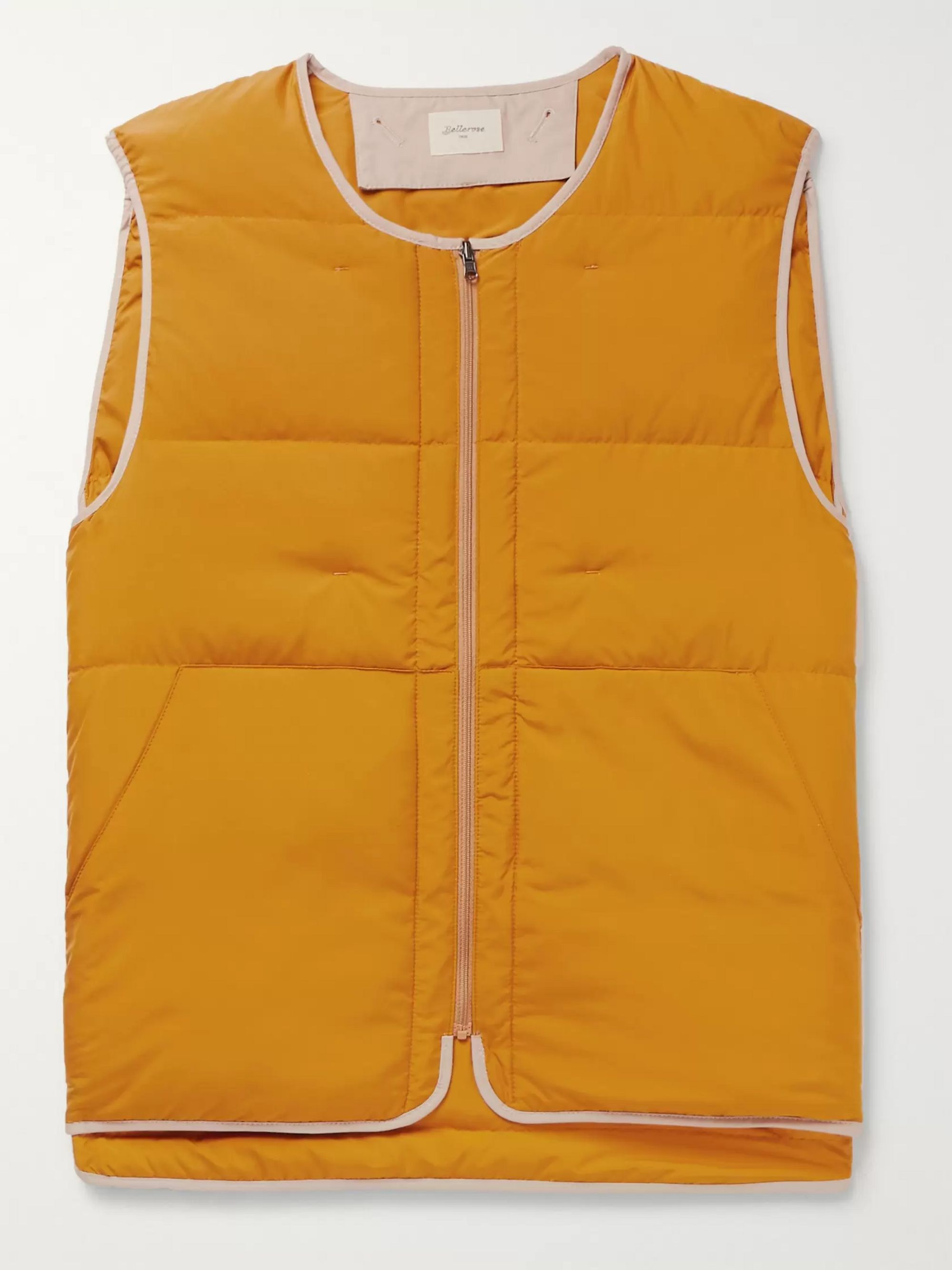 Bellerose Reversible Quilted Shell Down Gilet