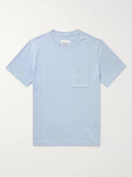 Albam Workwear Pigment-Dyed Cotton-Jersey T-Shirt