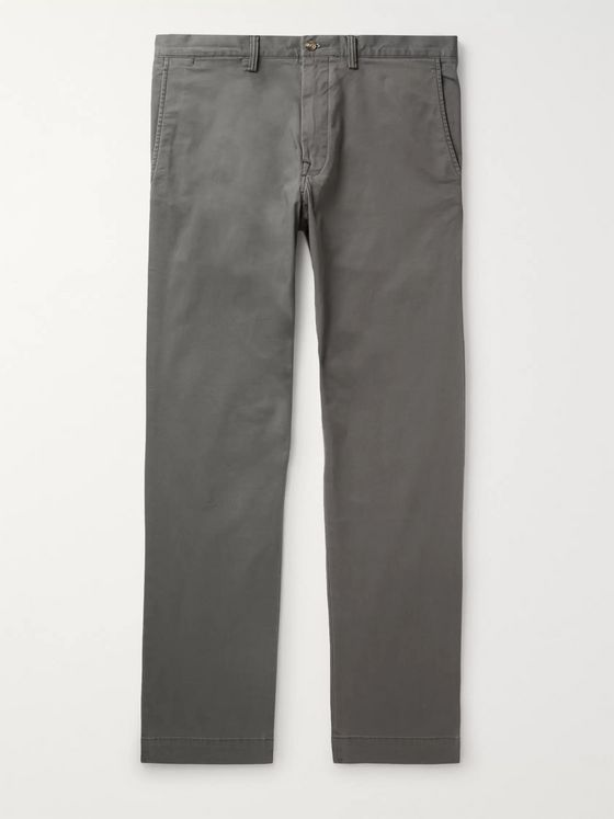 Polo Ralph Lauren Bedford Slim-Fit Stretch-Cotton Twill Chinos