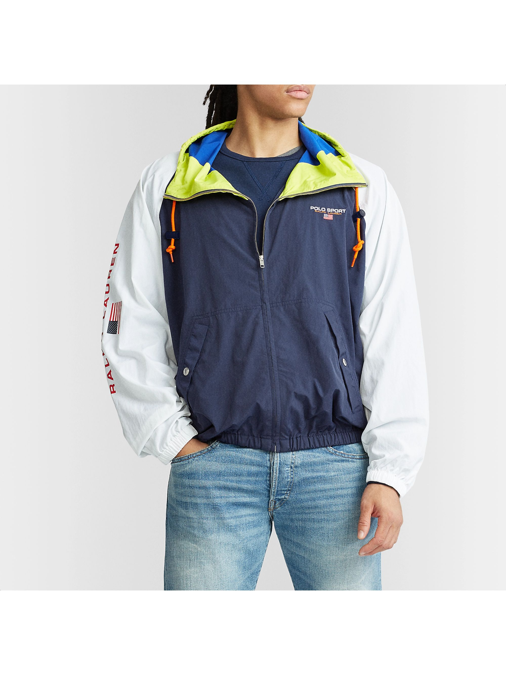 Polo Ralph Lauren Sport Colour-Block Shell Windbreaker