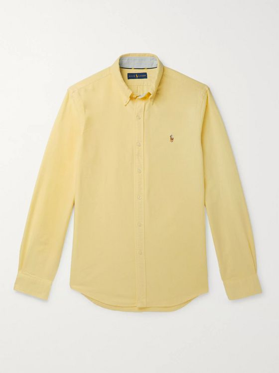 Polo Ralph Lauren Slim-Fit Button-Down Collar Cotton Oxford Shirt