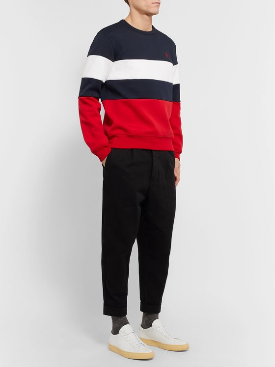 Polo Ralph Lauren Striped Jersey Sweatshirt