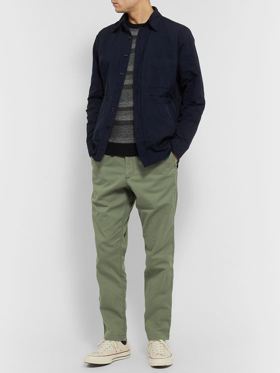 Polo Ralph Lauren Tapered Stretch-Cotton Drawstring Trousers