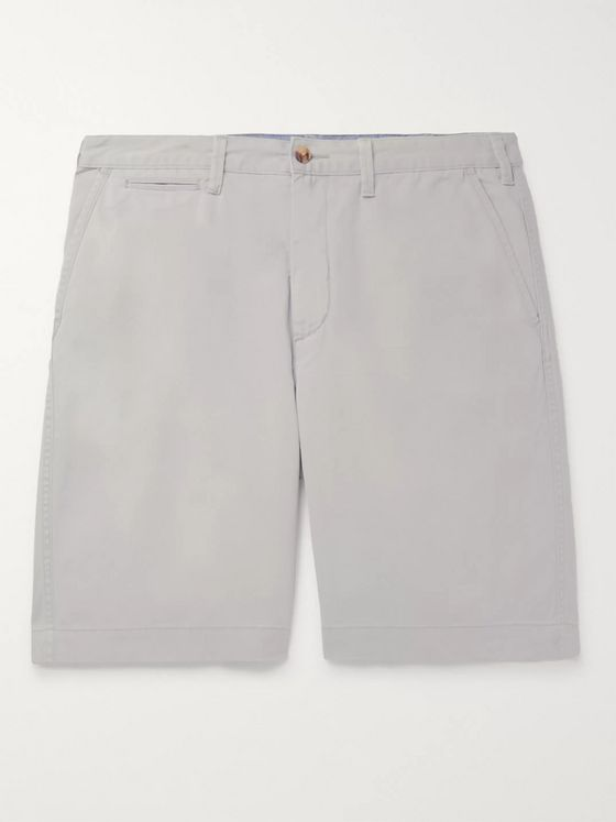 Polo Ralph Lauren Cotton-Blend Twill Shorts