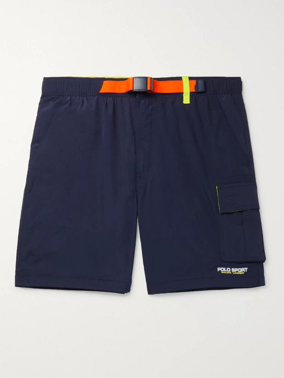 Polo Ralph Lauren OG Belted Shell Shorts