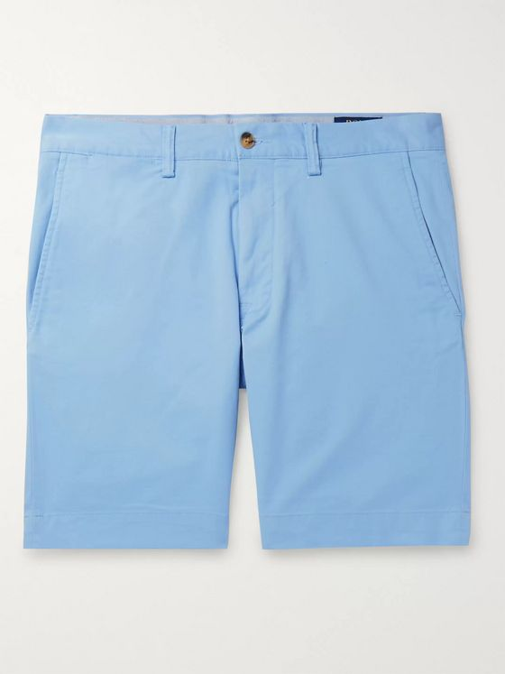 Polo Ralph Lauren Slim-Fit Stretch-Cotton Twill Shorts