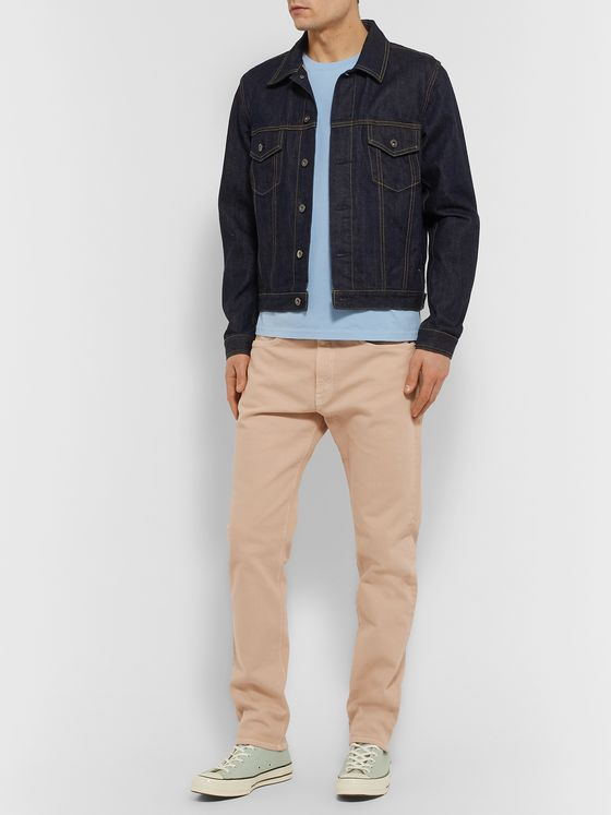Jeanerica Tapered Organic Stretch-Denim Jeans
