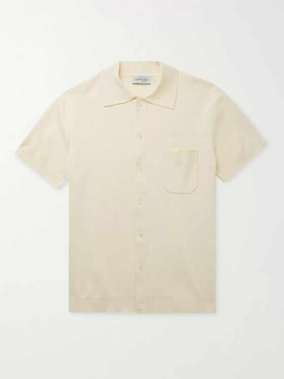 Odyssee Giraud Knitted Cotton Shirt