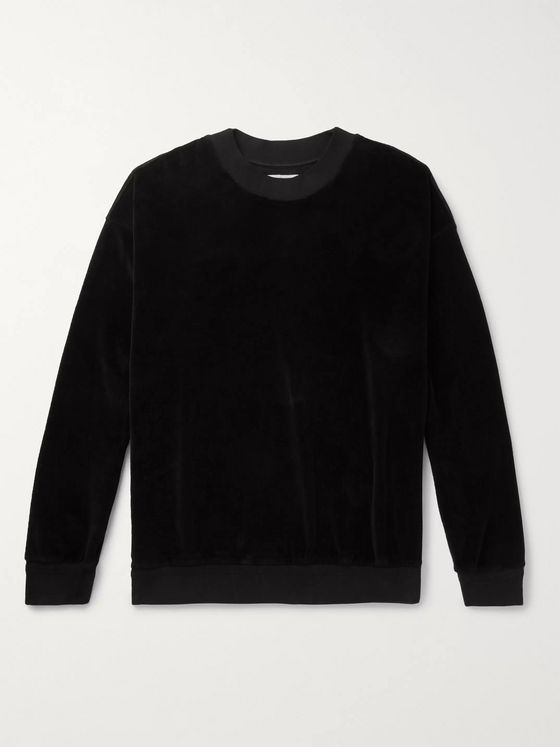 Jeanerica Organic Cotton-Velour Sweatshirt