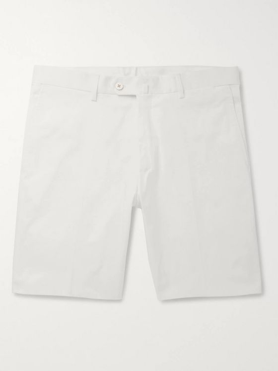 Odyssee Combes Slim-Fit Stretch-Cotton Twill Shorts