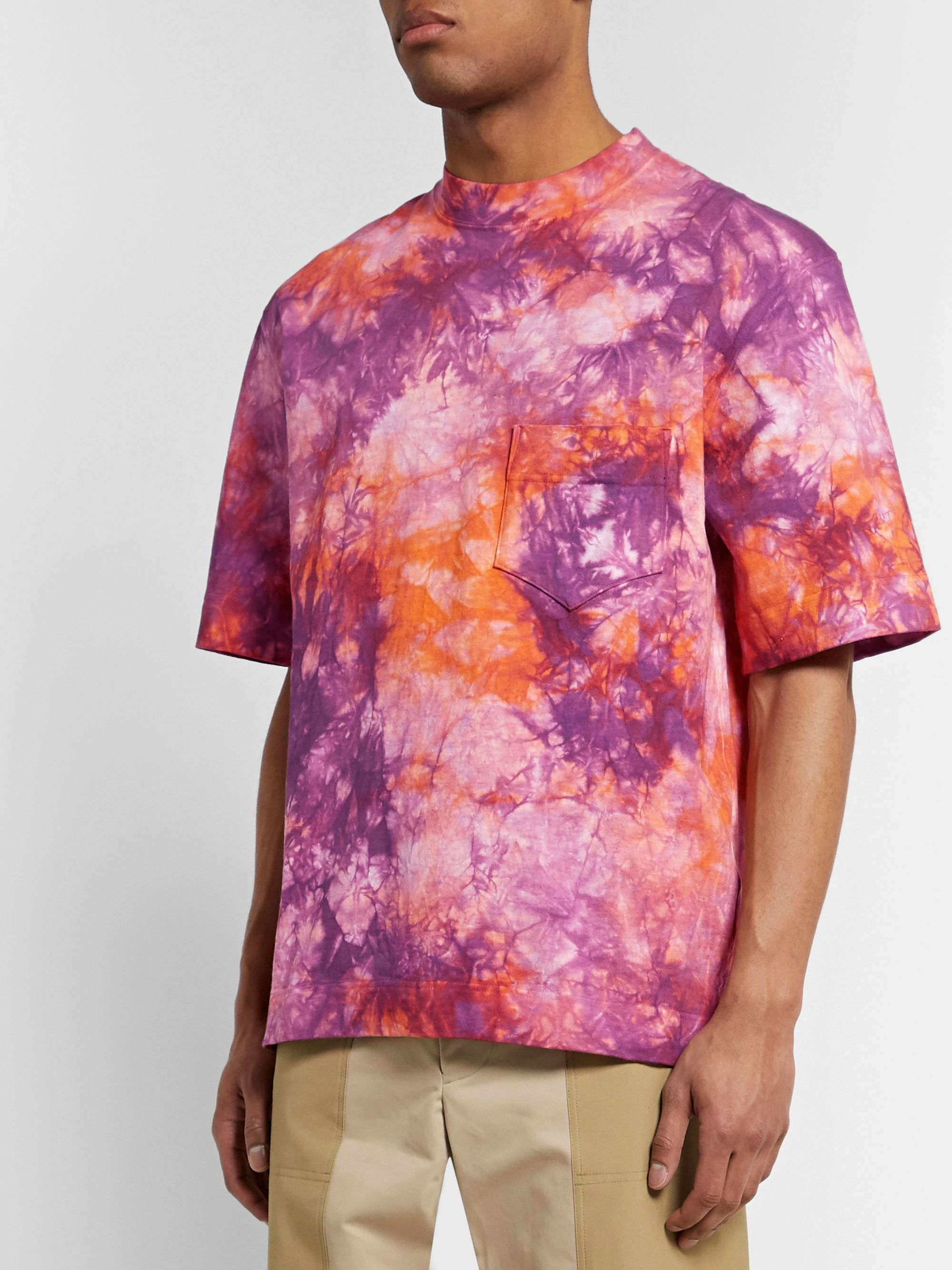 Nicholas Daley Tie-Dyed Cotton-Jersey T-Shirt