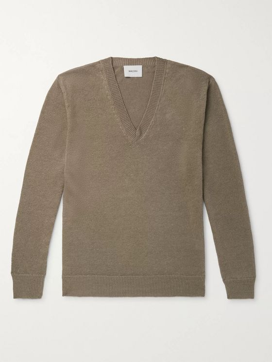 Nanushka Pete Linen Sweater