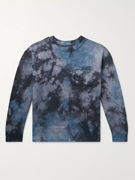 Nicholas Daley Tie-Dyed Loopback Cotton-Jersey Sweatshirt