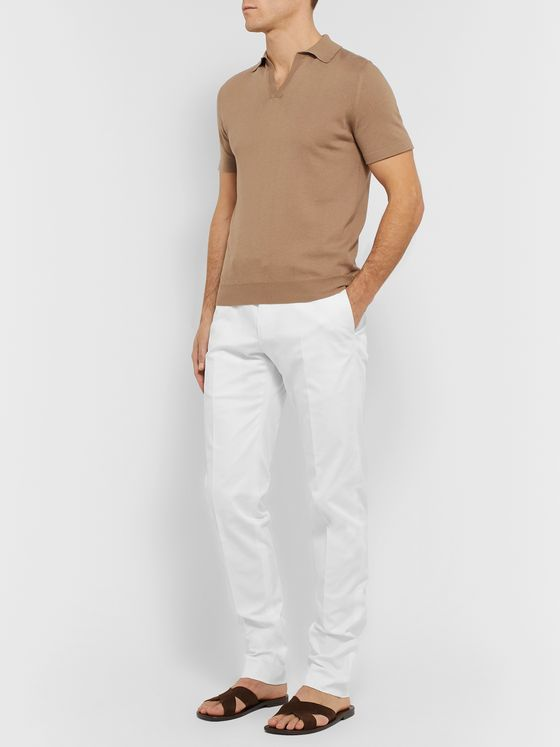 Odyssee Combes Cotton-Blend Twill Chinos