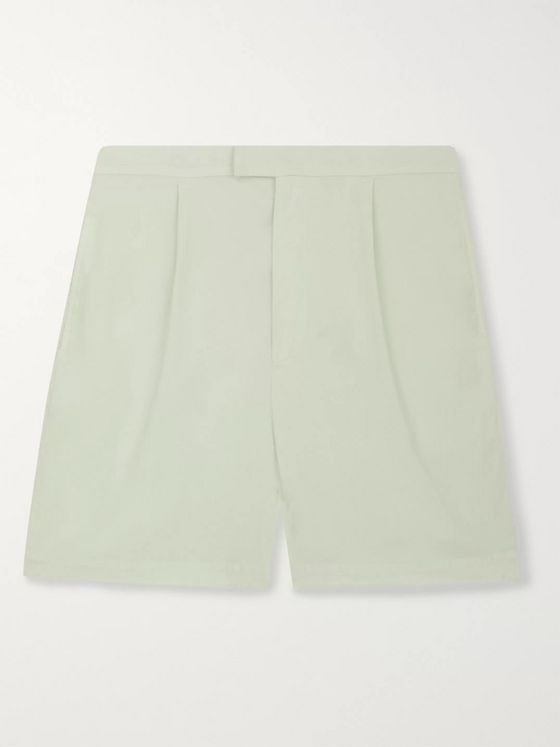 Nanushka North Organic Stretch Cotton-Blend Shorts