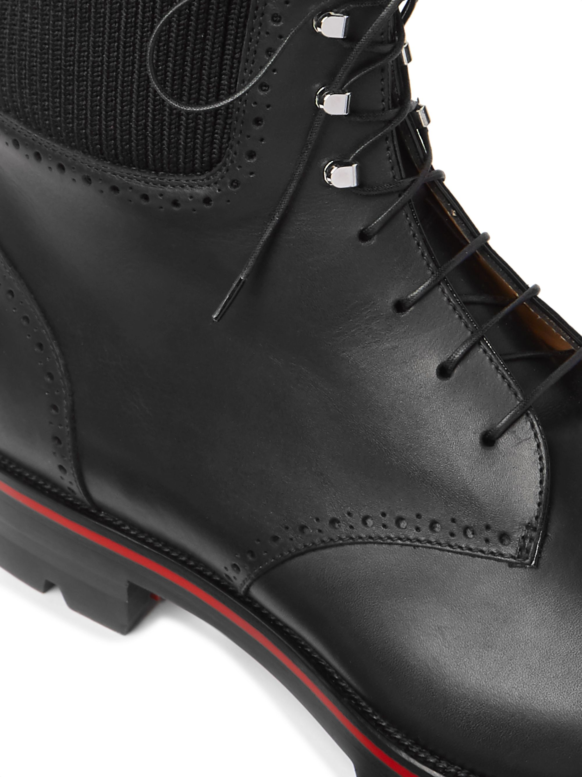 Trapman Leather Boots
