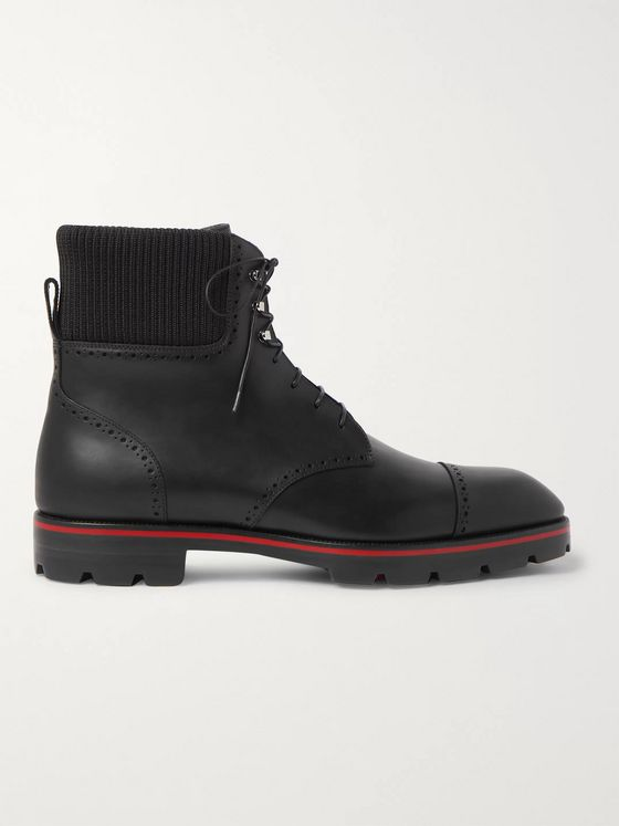 Christian Louboutin Trapman Leather Boots