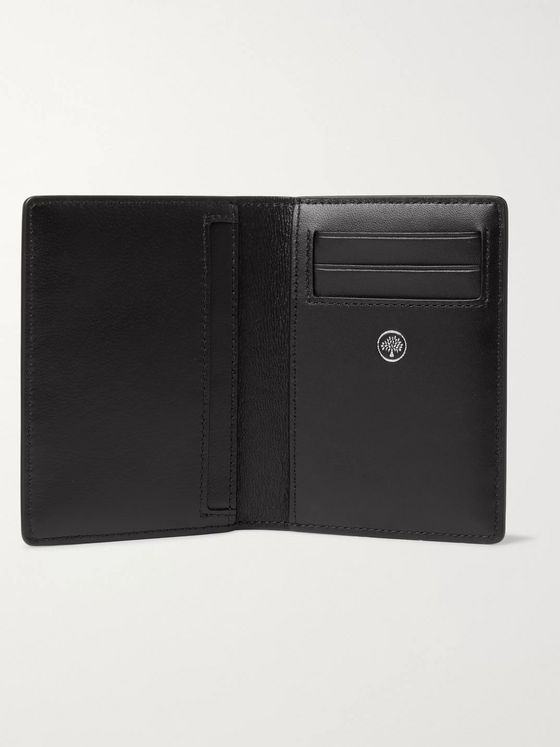 Mulberry Croc-Effect Leather Bifold Cardholder