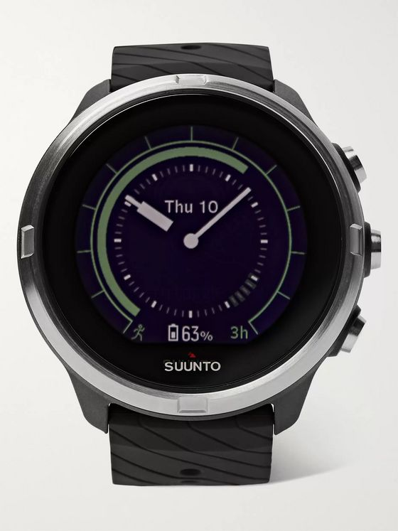 Suunto 9 G1 GPS 50mm Stainless Steel and Silicone Smart Watch