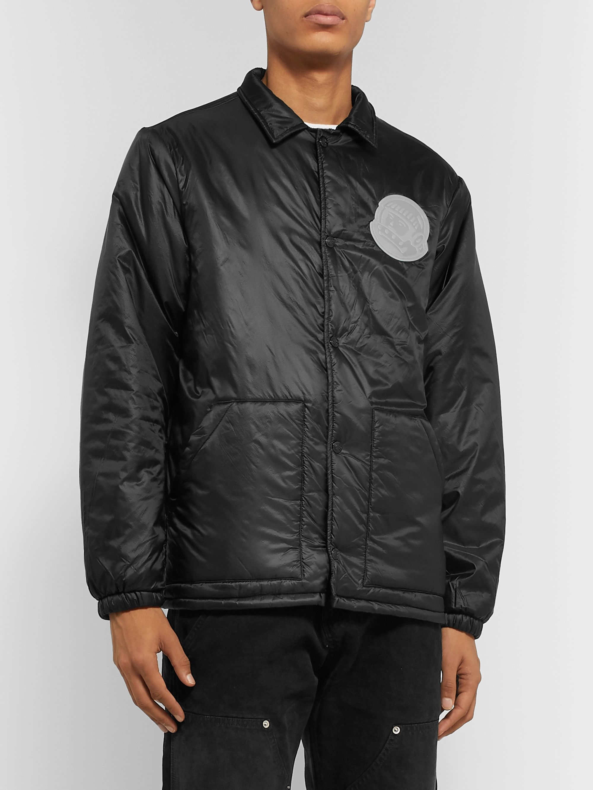 Billionaire Boys Club Logo-Appliquéd Padded Shell Jacket