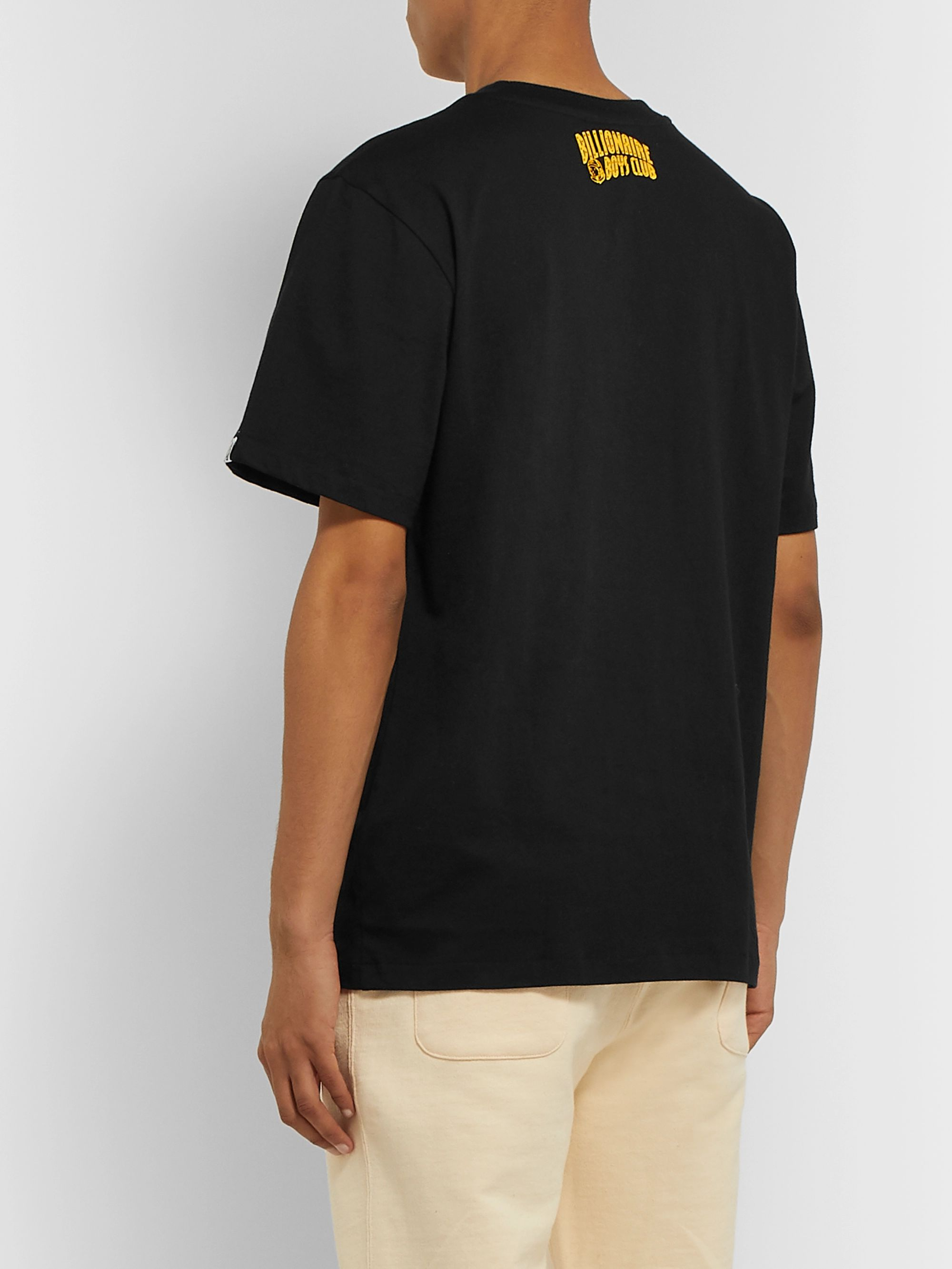 Billionaire Boys Club Printed Cotton-Jersey T-Shirt